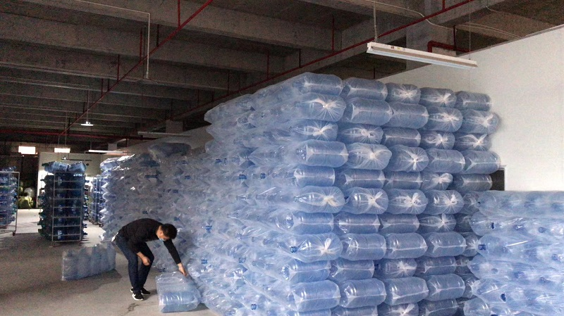 桶装水成品检验